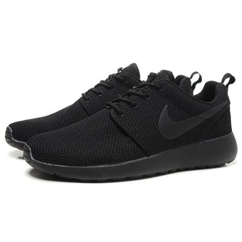 Nike Roshe Run Flyknit Fullblack 25 all black running shoes ideas on