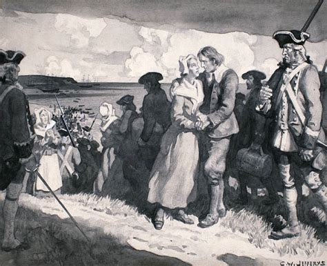 archived history the expulsion acadians explore the