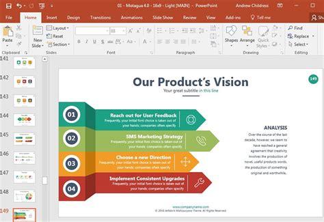 design template pada powerpoint digunakan untuk cara membuat presentasi powerpoint profesional dengan