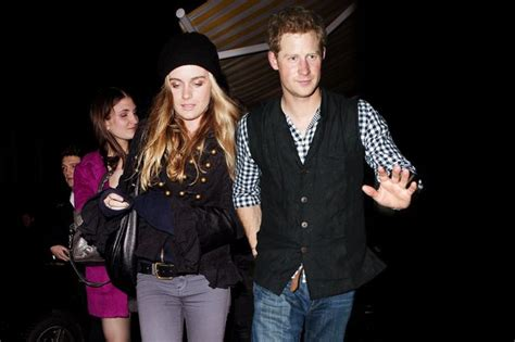 Prince Harry Split by Cressida Bonas And Prince Harry Split Up After Less Than