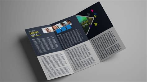 design templates for brochures photoshop how to design a tri fold brochure template photoshop
