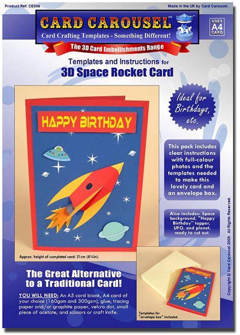 card rocket template card carousel craft template space rocket ce006 163 7