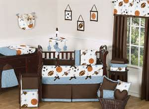 Boy Sports Crib Bedding Sports Room Collection Baby Bedding 9pc Crib Set For Newborn Boy By Jojo Designs Ebay