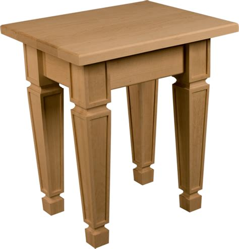mission style accent table end table kit mission style