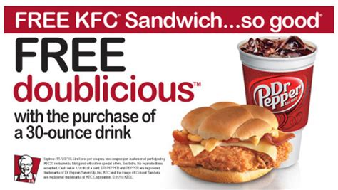 printable coupons for fast food restaurants 2014 free 10 pc bites kfc combo coupon code buy one get one