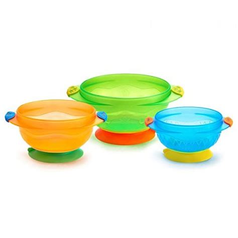 Boon Dish Edgeless Stay Put Bowl Blue Green Orange 1 boon platter edgeless nonskid divided plate blue orange green includes 3 pieces baby