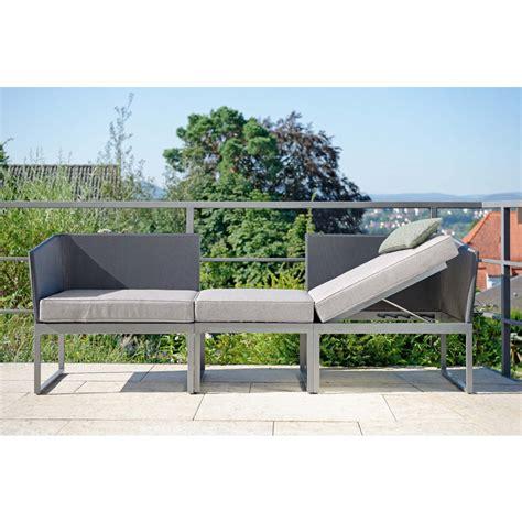 balkon liege donna zweisitzer lounge f 252 r balkon