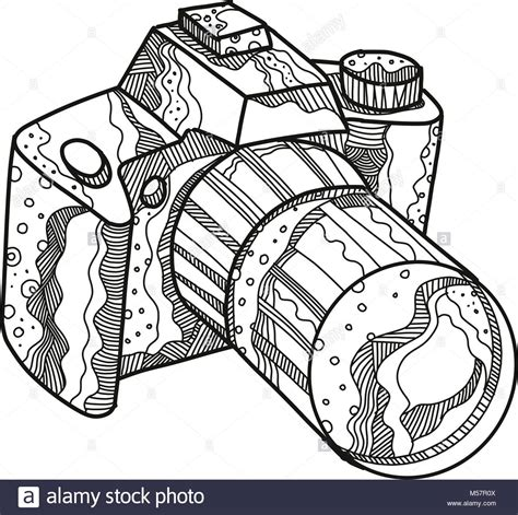 camara reflex o digital doodle ilustraci 243 n de una c 225 mara dslr slr digital o