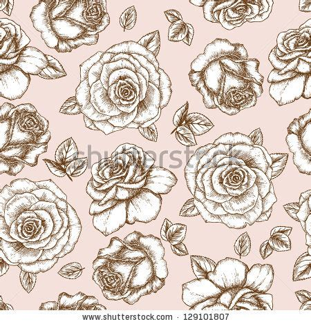 Flowery Chic Set 10 flower set vintage collection floral stock vector