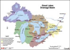 lakes in canada map great lakes strategy and overview foca