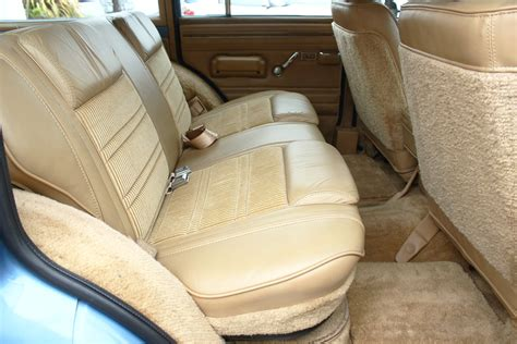 1987 jeep wagoneer interior 1988 jeep grand wagoneer rear seat view classic cars