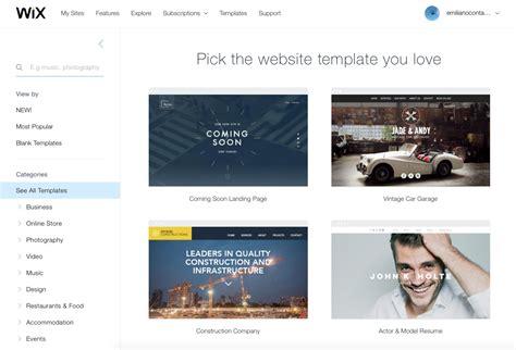 Recensione Wix La Piattaforma Semplice E Professionale Per Creare Siti Desktop E Mobile Wix Timeline Template