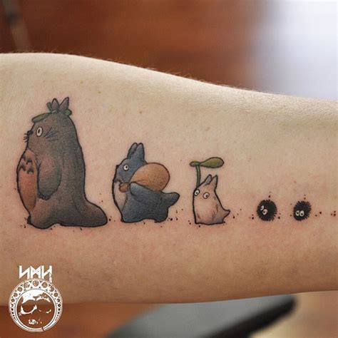 studio ghibli tattoo 20 studio ghibli tattoos inspired by miyazaki