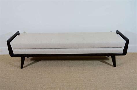 bench order bench order two handled upholstered wood framed bench for