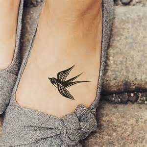 anchor with flowers tattoo 27 small and cute foot tattoo ideas for women styleoholic