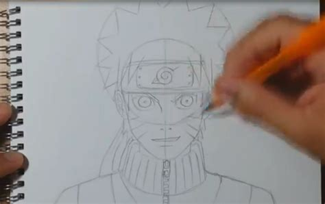 tutorial menggambar kartun dengan pensil cara menggambar kartun naruto i notordinaryblogger