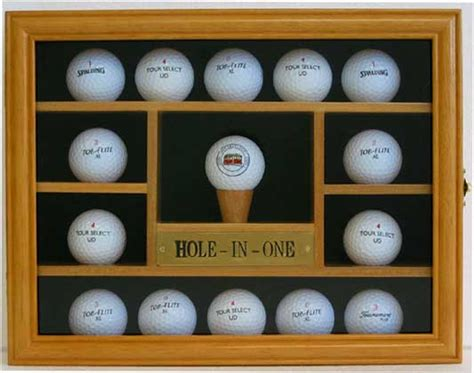 golf ball display cabinets australia nice gift 15 golf ball display case holder wall cabinet