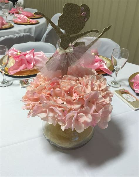 centerpiece ideas for the 25 best ideas about ballerina decorations on