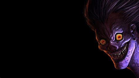 anime wallpaper hd for note 2 hd background ryuk death note purple face god of death