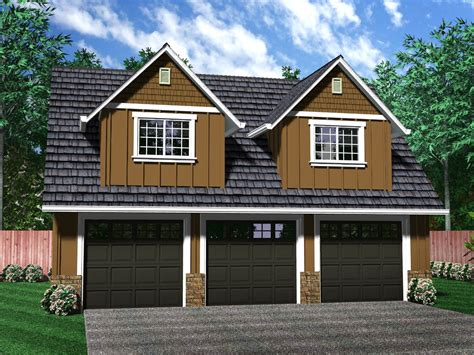 2 Car Garage With Living Space Above Plans by Painting Of Independent And Simplified With Garage