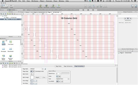 960 grid templates kuefler axure template with a 960 grid system