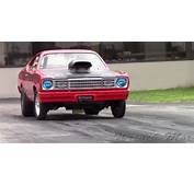 Plymouth Duster Drag Car