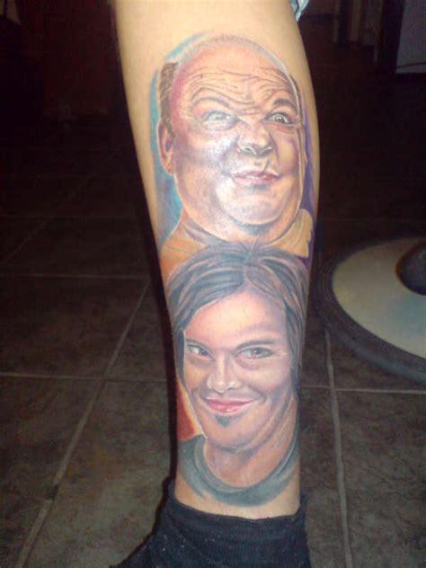 tenacious d tattoo black kyle gass