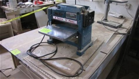 makita bench planer west auctions auction construction and woodworking equipment from cabinet shop item