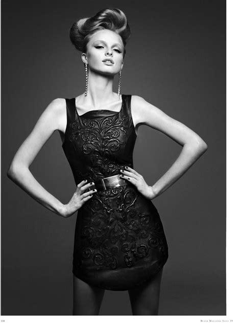 Thom Kerr Shoots Eva Downey for Black Magazine Fashion