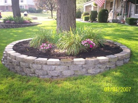 Ideas For Large Walls Landscaping Retaining Walls Landscape Around Trees