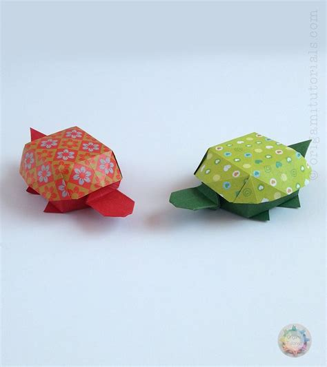 origami tutorial turtle origami turtle box by yoshihisa kimora diagrams in noa