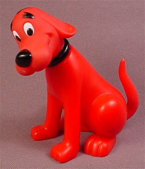 clifford the big toys clifford the big figure 3 5 8 inches move island