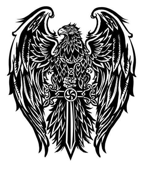 tattoo cross eagle armenian eagle and cross by malachidesigns on deviantart