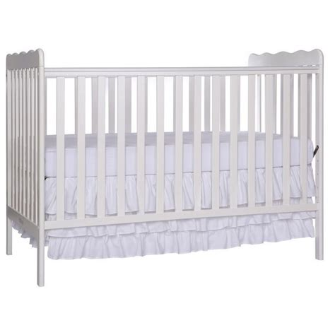 on me convertible crib on me classic 3 in 1 convertible crib in white 675 w