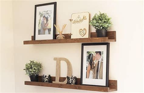 Wood Picture Ledge Shelf by Rustic Wooden Picture Ledge Shelf Gallery By Dunnrusticdesigns