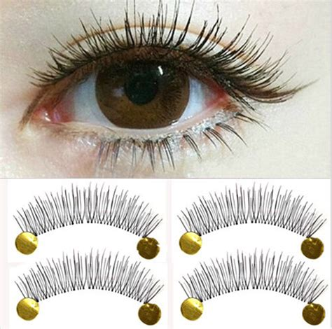 Bulu Mata Palsu Rs73 10pair new makeup false eyelashes soft cross