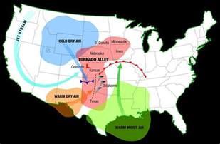 tornado alley map canada where is tornado alley