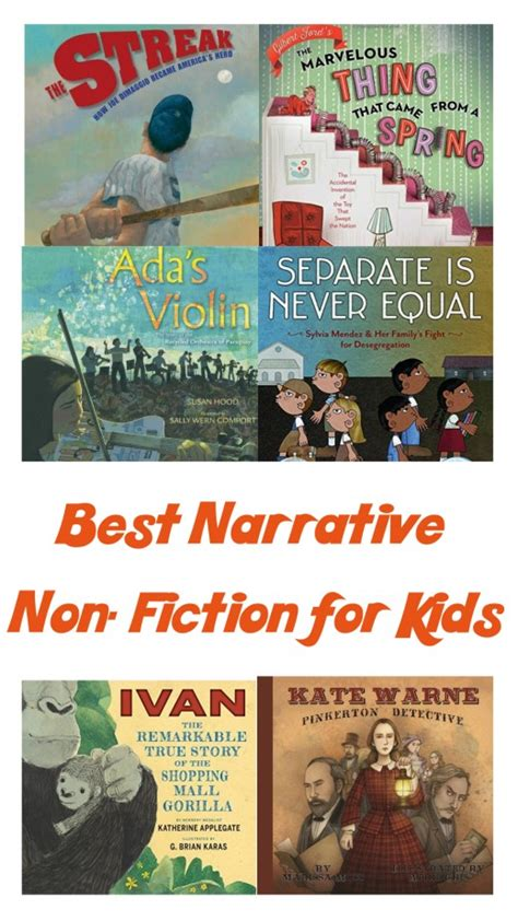 nonfiction picture books for children a review of the 37 best narrative nonfiction books for