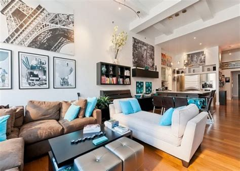 Loft Living Room Layout New York Loft Architektura Wnętrz Artykuły