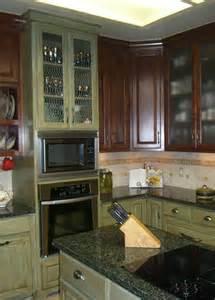glazed kitchen cabinets colors green glazed kitchen cabinets kitchen colors