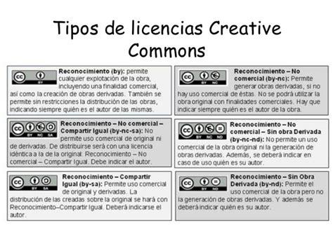 tipos de licencias de microsoft propiedad intelectual y licencias creative commons