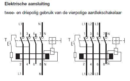 Lu Led Motor Mono interrupteur diff 233 rentiel 4p 25a 30ma typea