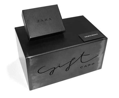 Gift Card Zara Online - zara gift card on behance