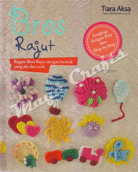 Pola Tas Rajut Behel buku bros rajut dilengkapi pola step pembuatan crafts