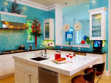 colorful kitchens ideas caribbean interior decorating kitchen your dream home