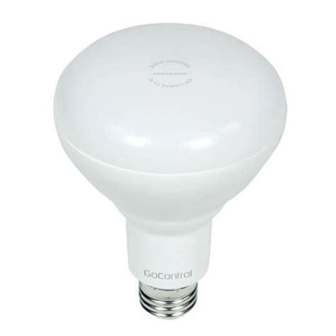 z wave flood light gocontrol z wave 65w equivalence cool white br30 dimmable