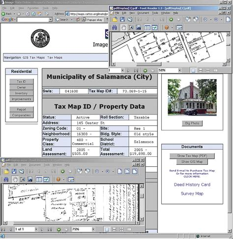 Cattaraugus County Property Records Arcnews 2006 Issue Cattaraugus County New York