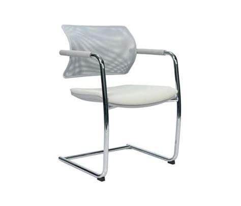 ufficio aire sedia con base a slitta schienale in polipropilene con