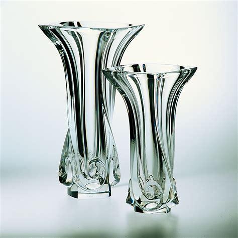 vasi cristallo vaso di cristallo cm 28 cristal s 232 vres di cristofalo