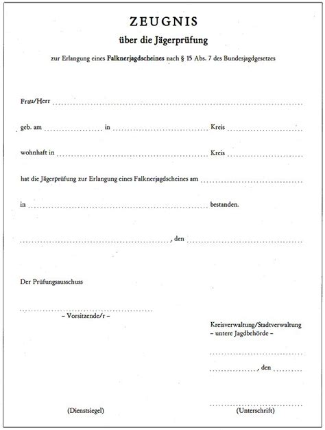 Muster Mahnung Behörde Umwelt Ljvo Landesjagdverordnung Rheinland Pfalz